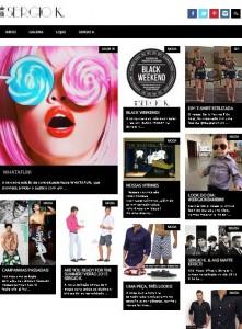 Marca Sergio K. lança blog de lifestyle. Cada clique é um flash!
