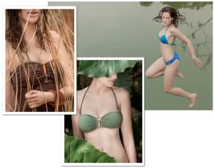 Ex-estilista da Blue Man e filha de Isaac Peres lançam marca de beachwear de luxo