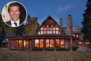 Tom Cruise coloca mansão no Colorado à venda. Tem US$ 59 mi sobrando?