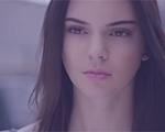Kendall Jenner, do clã Kardashian, é novo rosto da Estée Lauder. Play para o making of!