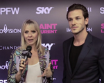 "Gaspard Ulliel, ator de ""Saint Laurent"", no Iguatemi Views. Play!"