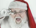 Os pedidos ao Papai Noel através do Google Glass. No Iguatemi São Paulo tem!