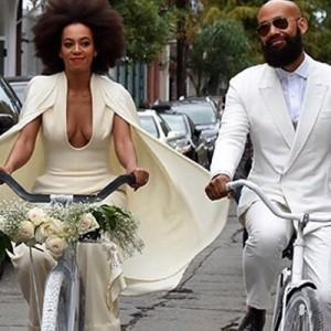 O casamento all white de Solange Knowles, irmã de Beyoncé