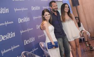 Sandy, Wanessa, Malvino Salvador e convidados agitam o lançamento da Desitin no Brasil
