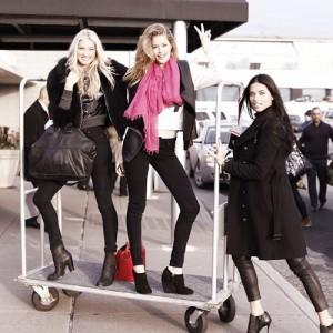 As angels invadiram Londres na véspera do Victoria's Secret Fashion Show