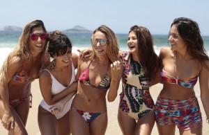 Glamurettes cariocas em dia de praia no Rio: aos cliques!