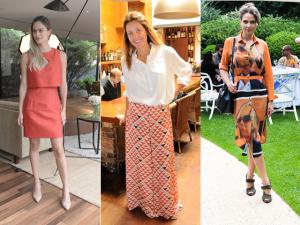 Vem espiar as glamurettes mais bem vestidas da semana