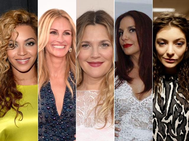 As celebridades    Créditos: