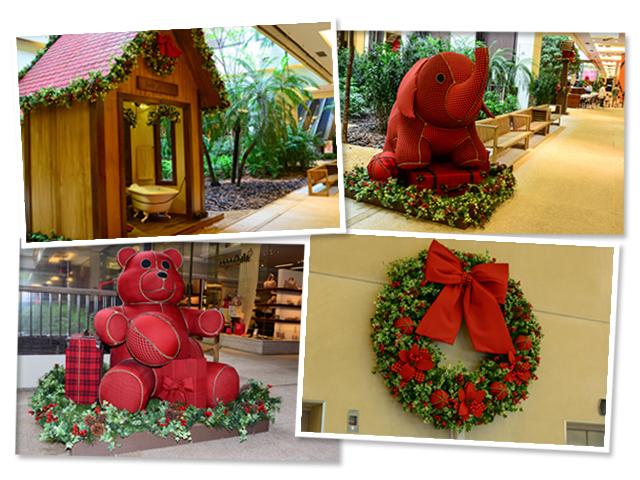 Shopping Cidade Jardim faz decoraç u00e3o de Natal lúdica Passa lá! u2013 Glamurama -> Decoração De Natal Jardim