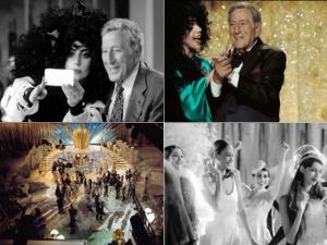 H&M divulga bastidores da campanha com Lady Gaga e Tony Bennett