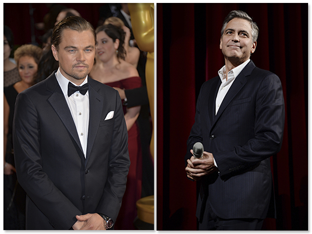 Leonardo DiCaprio e George Clooney || Créditos: Getty Images