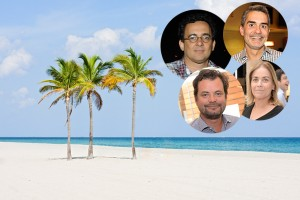 Esther Giobbi, Felipe Diniz e outros brasileiros ganham jantar em Miami