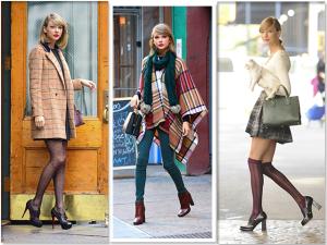 O estilo musa cool de Taylor Swift em seu aniversário de 25 anos