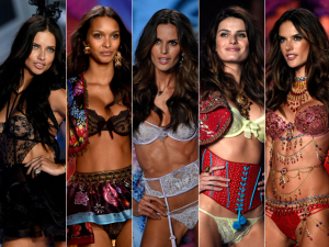 Do desfile à festa, o sex appeal das brasileiras no VS Fashion Show