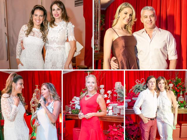 Em sentido horário  Andrea Guimarães e Luciana Gimenez  Ana Hickmann e  Alexandre Correa  Tom Cavalcante e Patricia Lamounier  Adriane Galisteu  ... 1babf5931f