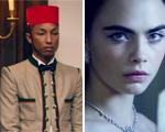 Pharrell Williams e Cara Delevingne vivem conto de fadas da Chanel. Play!