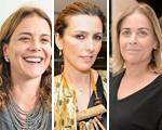 Carolina Overmeer, Chiara Gadaleta e Esther Giobbi unidas pela moda sustentável