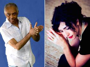 Marisa Monte e Gilberto Gil juntos pela primeira vez em Recife