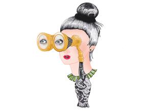 Certa atriz e mais uma trupe de glamurettes nos parques de Orlando