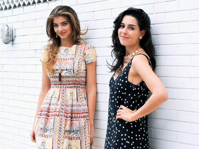 Maria Frering e Camila Cunha