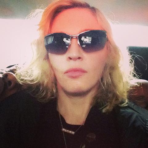 Madonna triste com os vazamentos de suas mmúsicas na internet    Créditos: Reprodução Instagram
