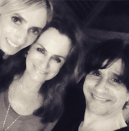Fernanda de Goeye, Giorgina Brandolini e Paulus Magnus || Crédito: Reprodução Instagram