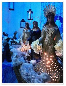 As estátuas de Iemanjá de Joana Vieira em parceria com Calazans