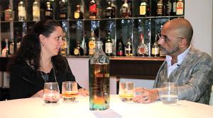Fábio Bibancos e Gabriela Onofre, diretora da P&G Brasil. Bossa in Blue!