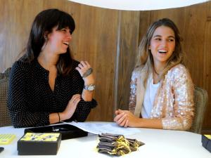 Carol Koeler, Catarina Zecchin e a delicadeza das joias delas