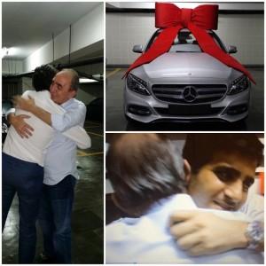 Sergio K segue tradição de Natal e dá um presente de puro luxo ao pai
