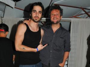 Fiuk e Selton Mello curtem show dos bons no Cafe de La Musique Jurerê