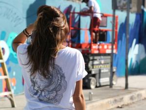 FYI marca presença no Miami Art Basel com super wall em Wynwood