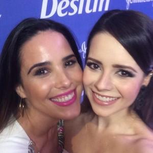 Sandy e Wanessa são apresentadas como embaixadoras da Desitin