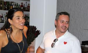 Em seu aniversário, Tuca Franchini leva turma ao Così, em SP