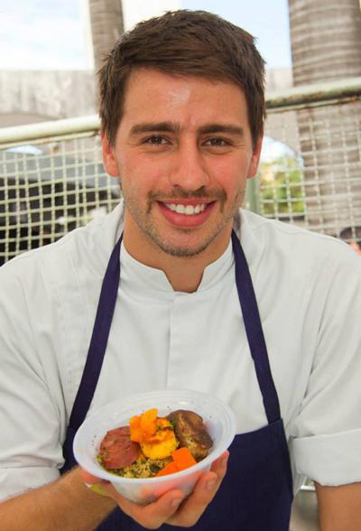 Top chef Pedro    Créditos: Reprodução Facebook