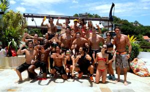 Treino de Mahamudra na Casa Glamurama Rio: pode entrar