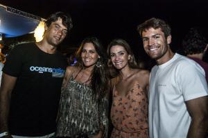 Festa GoodVibes Lual Gastronômico animou glamurettes em Fernando de Noronha