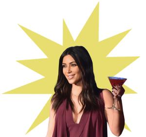 Kim Kardashian: só deu ela nas capas dos tablóides em 2014