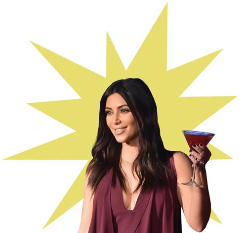 Um brinde às capas de Kim Kadarshian    Créditos: Getty Images