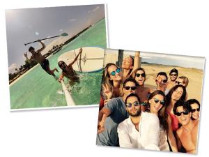 Só dá ele neste verão: o bastão de selfie está em todas!