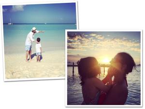 Ciccy Halpern e família em roteiro paradísiaco por Aruba. Vem junto!