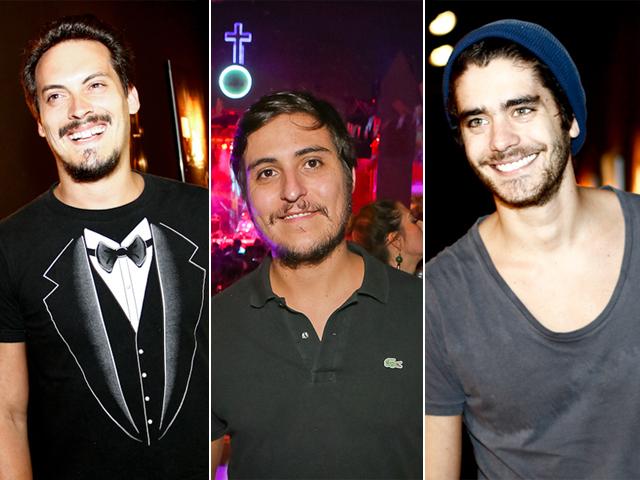 O trio de DJs Make U Swear Guga Guizelini, || Créditos: Divulgação / Ali Karakas