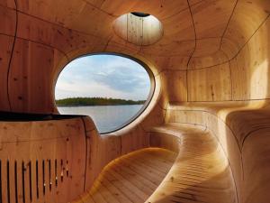 Estúdio de arquitetura Partisan cria ambicioso SPA no Canadá. Pode entrar!