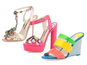 Sophia Webster e sua coleção de sapatos à lá fauna e flora, vem!