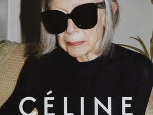 Céline escala a escritora Joan Didion para sua nova campanha