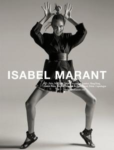 Isabel Marant leva uma guerreira urbana para sua primavera