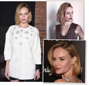 Os fios curtinhos e fresh de Kate Bosworth. Para adotar já!