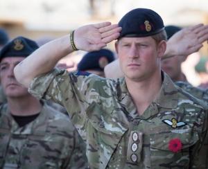Encontraram uma função para o Príncipe Harry: ajudar militares!