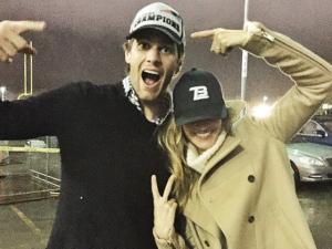 """Tom Brady sobre Gisele: """"Em casa, cuidando das crianças"""""""