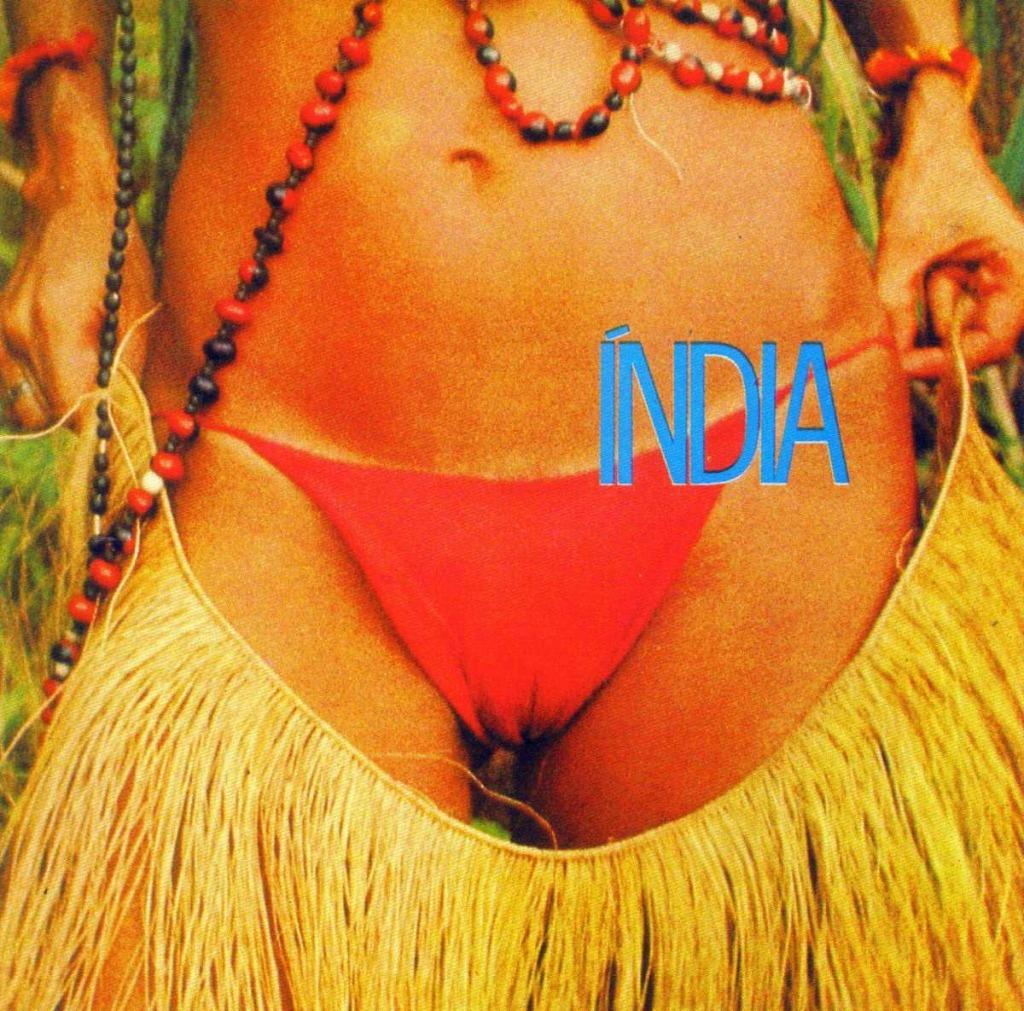 """Capa do álbum """"Índia"""""""